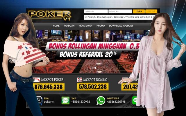 Situs 99 Domino Poker Online Terpopuler dan Paling Beken